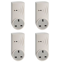 Smart Plug UK Multipack of 4