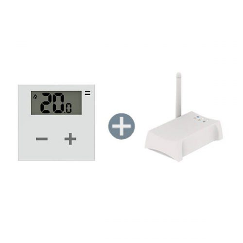 Wireless Digital Thermostat Smart Home Bundle