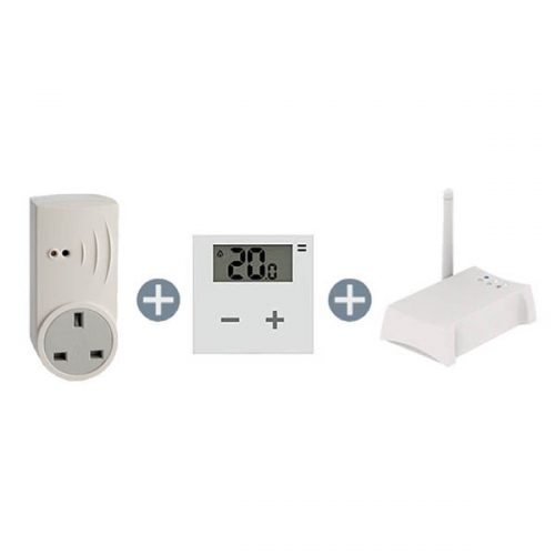 Wireless Smart Plug & Digital Thermostat Smart Home Bundle