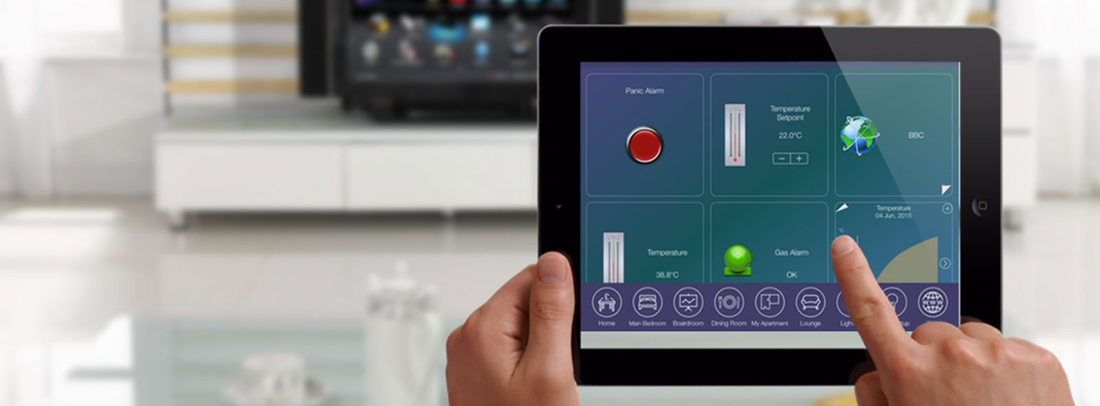 Tyrrell Smart Home App